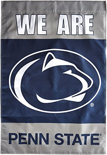 Penn State Nittany Lions Memorabilia - NCAA Penn State Nittany Lions We are Penn State 2-Sided Banner with Pole Sleeve, 28 x 40-Inch