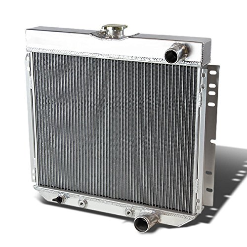 For Ford Fairlane/Falcon/Mustang 3-Row Full Aluminum Racing Radiator (Torino Stock)