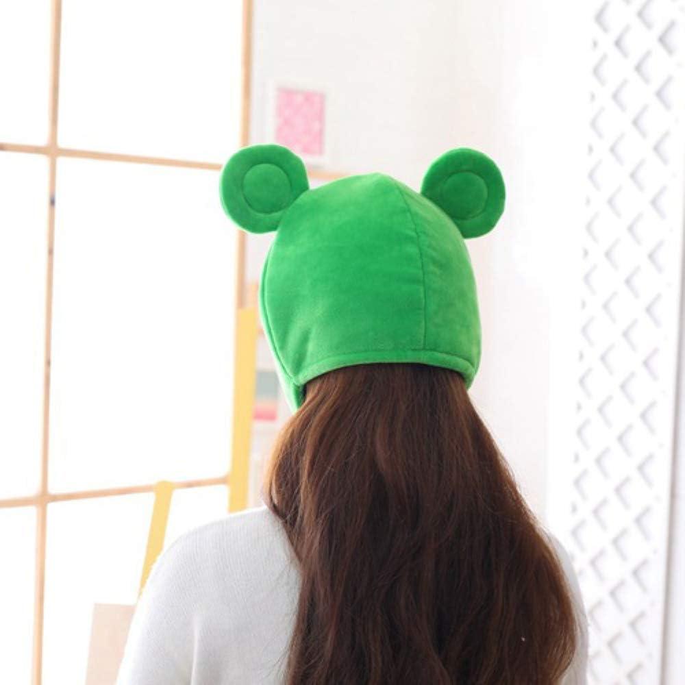 Gorro de Bufanda para Invierno JUNCHUANG Bonito Sombrero de Rana de Felpa