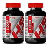 Increase sexual energy - MUCUNA PRURIENS EXTRACT L-Dopa (99%) - L-dopa power - 2 Bottles 120 Capsules