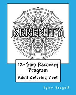 12 Step Recovery Program Adult Coloring Book