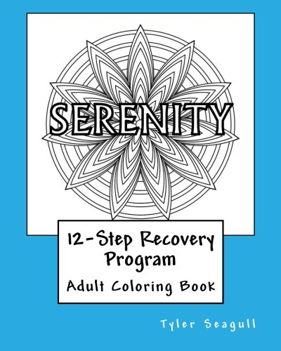 12-Step Recovery Program Adult Coloring Book