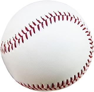 WINOMO 2pcs 9 Pouces Caoutchouc Pratique Baseball Aux Etudiants et Aux Débutants (Blanc)