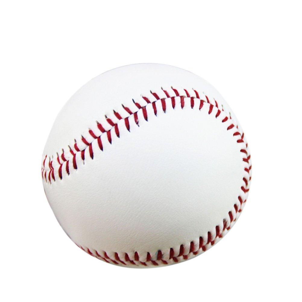 Pixnor Baseball Ball 2ST neue Norm Freizeit Baseball Gummi Praxis Baseball fü r Studenten und Anfä nger