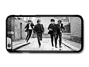 The Beatles Running Street Black & White Rockstars case for iPhone 6 Plus