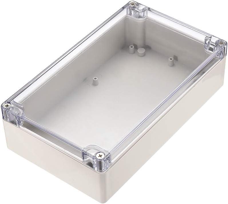 ABS Plastic Case Enclosure 80mm x 61mm x 22mm Grey Project Box Case Electronics