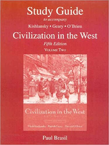 civilization in the west kishlansky pdf 13