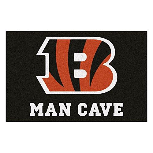 - FANMATS 14285 NFL Cincinnati Bengals Nylon Universal Man Cave Starter Rug