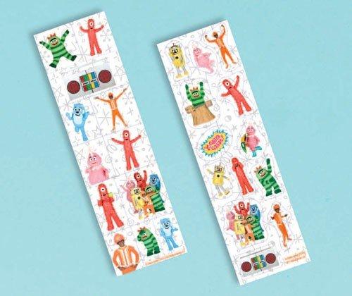 (Yo Gabba Gabba Stickers (8) Favors Treats Birthday Party)