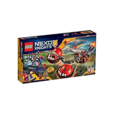 LEGO Nexo Knights 70314: Beast Master's Chaos Chariot Mixed: Toys & Games