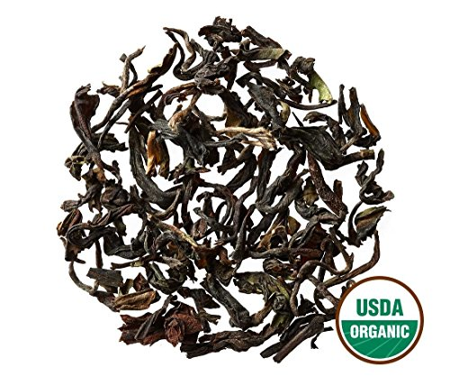 Darjeeling Tea - Organic - Loose Leaf - Bulk - Non GMO - 96 Servings, 8 oz