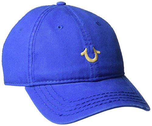 True Religion Men's Core Logo Baseball Cap, Royal Blue, One Size