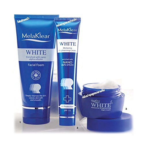 Melaklear White Melasma Brightening Cream, Dark Spot and ...