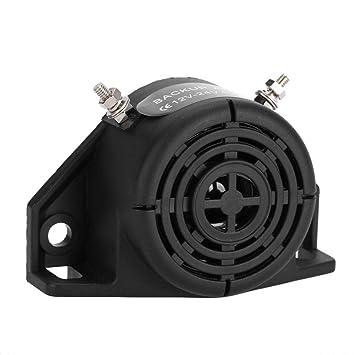 Qii lu 12V-24V Alarma a prueba de agua ABS Reversing Buzzer Horn para veh/ículo veh/ículo cami/ón