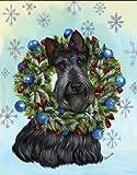 Scottish Terrier Snowflake%2DGF