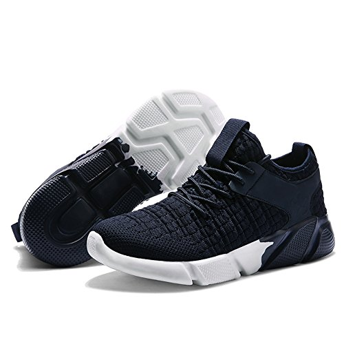 Lightweight Blue Sneakers Mesh Sport Men's Shoes Breathable Ryanmay Soft Running Athletic Casual Women's Fashion Sole qUcPw6