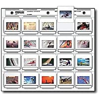 Print File 2x2-20H Archival Storage 35mm Horizontal Pack of 100