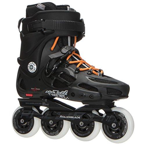Rollerblade Men's Twister 80 Skates Black 28.5 by Rollerblade