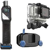 Combo Progrip e Strapmount para Câmera GoPro, Polar pro, Acessórios para Câmeras Digitais