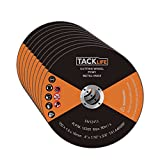 Tacklife PCW1 Cutting Wheels 4-Inch by 1/16-Inch 10-Pack Abrasive Cutt-off Wheels for Cutting Metal and Stainless Steel,5/8 Inch Arbor