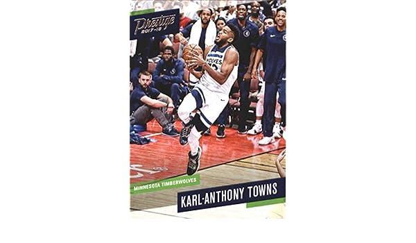 2017-18 PANINI PRESTIGE Basket Jimmie #131 Karl-Anthony Towns