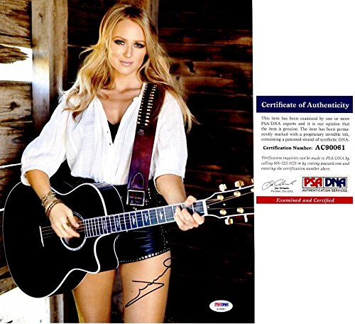 - Jewel Autographed Signed Singer Songwriter 11x14 Concert Photo