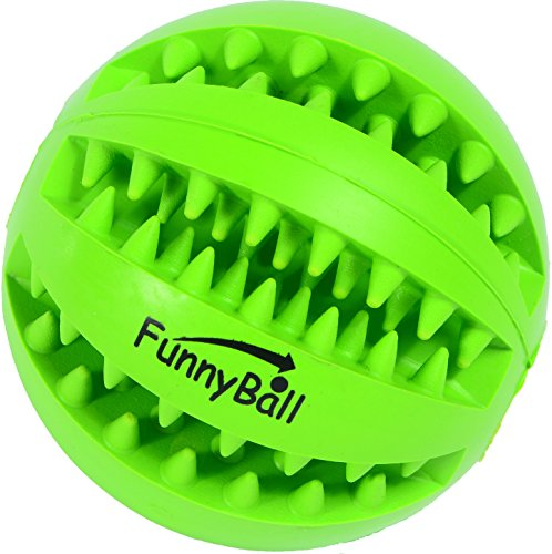 Dog Toy Ball, Toy Ball For Pet, Dog Ball Teeth Cleaning, Rubber Dog Toy, IQ Training Dog Toy (Slotted Cat Toy Balls)