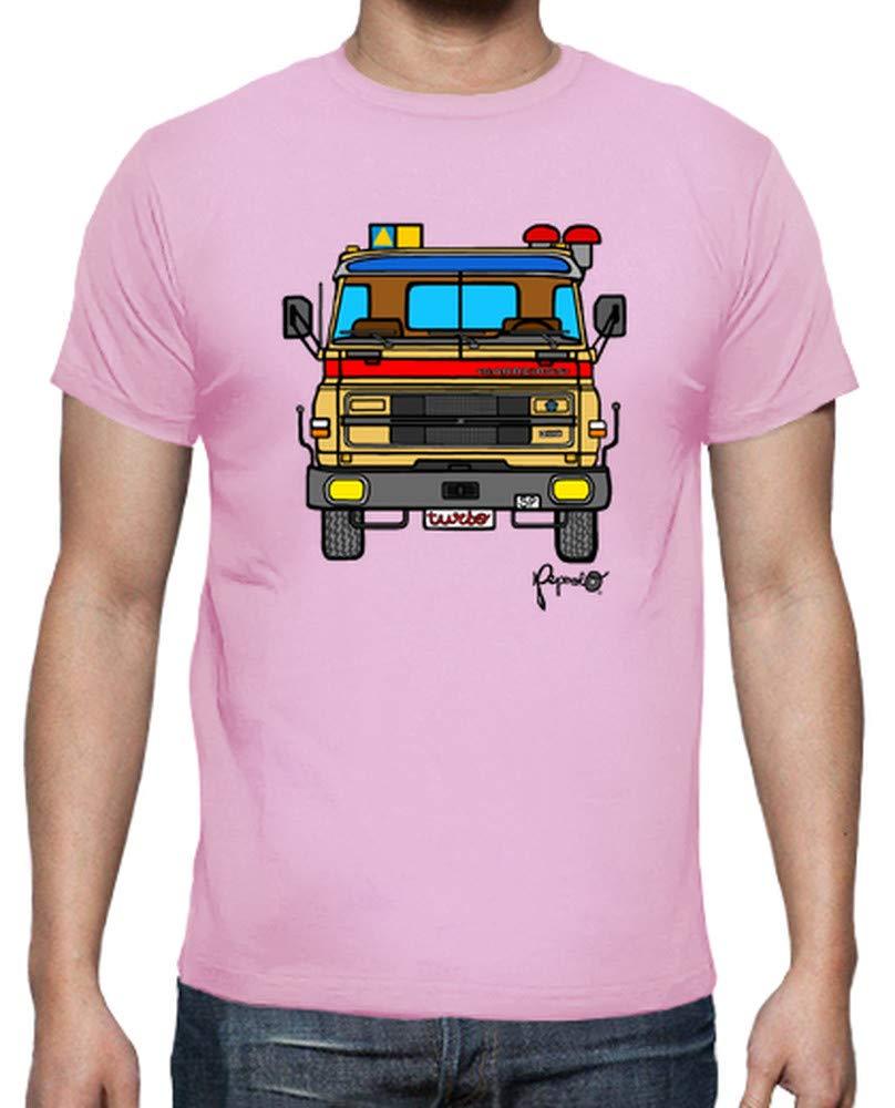 latostadora - Camiseta Barreiros 300 Turbo para Hombre Amarillo Mostaza S: JMB: Amazon.es: Ropa y accesorios