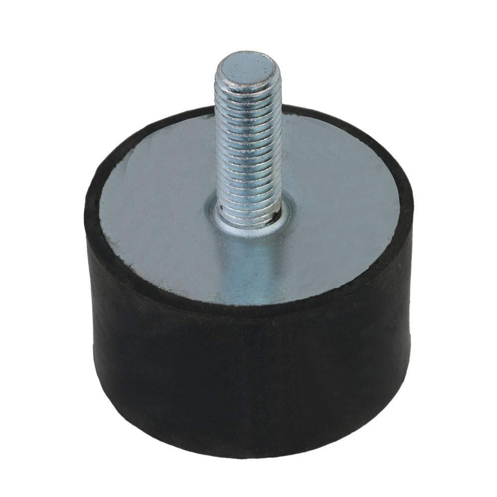 Mxfans Anti Vibration Rubber Mounts Shock Damper M12 60 x 35mm VD Type Black