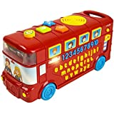 CoolToys My First Learning Bus | School Bus for Babies, Toddlers, Kids | Educational, Sensory Fun with Letters, Numbers, Word