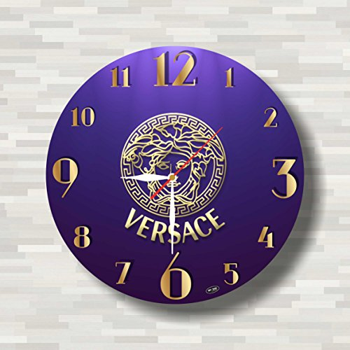 Versace 11.4'' Handmade Wall Clock - Get unique décor for home or office – Best gift ideas for kids, friends, parents and your soul - Picture Of Versace