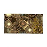 Society6 Steampunk, Awesome Clocks Bath Towel 64''x32''