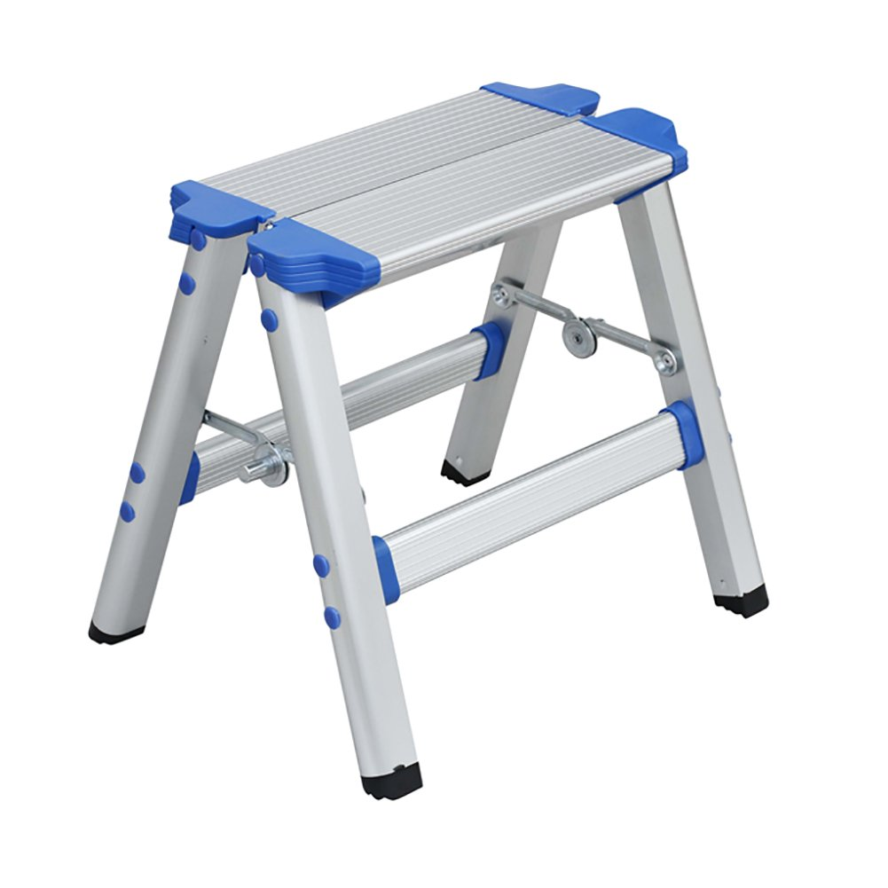 Ladder stool Aluminum Alloy Home Folding Ladder Chair Dual-use Portable Outdoor Sketching Fishing Stool Pony Stool Multifunction