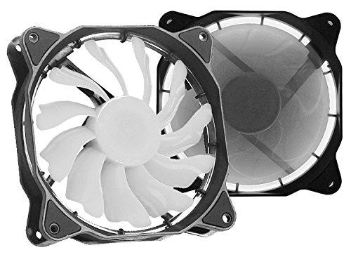 Cooler 120x120mm DEX DX-12F - LED Branco