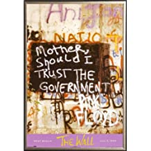 Pink Floyd - Berlin Wall 24x36 Dry Mount Poster Gold Wood Framed