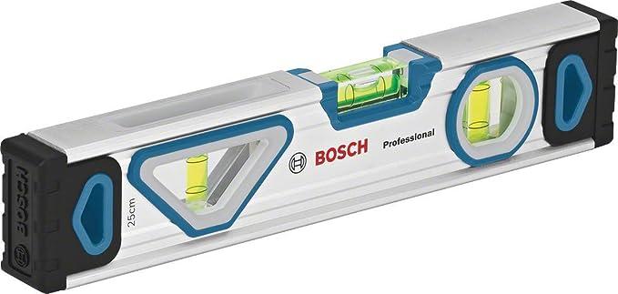 rundum ablesbar, Aluminium Geh/äuse, robuste Endkappen, in Blister rundum ablesbar, Aluminium Geh/äuse, robuste Endkappen, in Blister Bosch Professional Wasserwaage 120 cm + Wasserwaage 60 cm