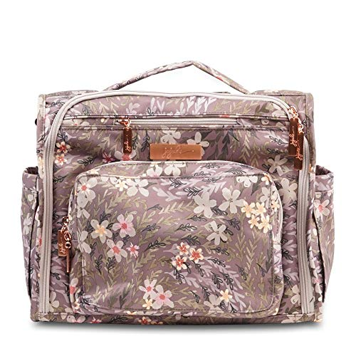 (JuJuBe B.F.F. Multi-Functional Convertible Diaper Backpack/Messenger Bag - Sakura at Dusk)