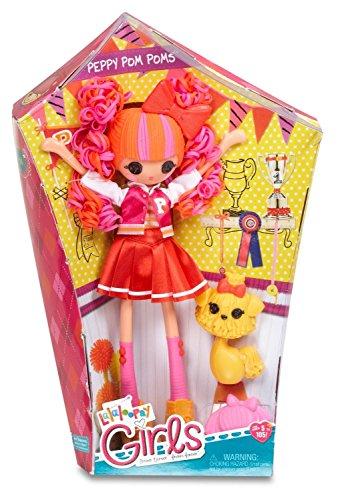 Lalaloopsy Girls Basic Doll- Peppy Pom Poms (Basic Doll)