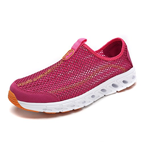 DREAM PAIRS Women's 160712-W Fuchsia Athletic Slip On Water Shoes Size 6.5 M US