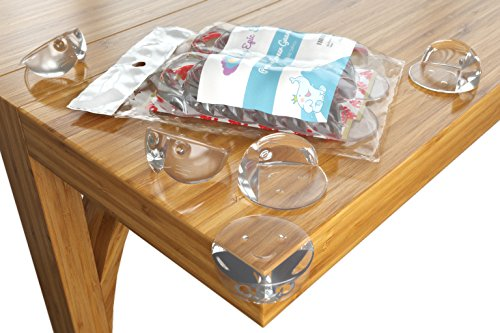 baby proofing corner guards 12 pack child proofing baby safety corner protector kit. Black Bedroom Furniture Sets. Home Design Ideas