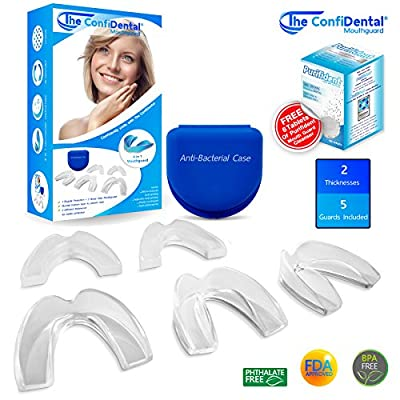 The ConfiDental Dental Guard - Moldable Dental Protector, Dental Guards for Teeth Grinding, and Bruxism