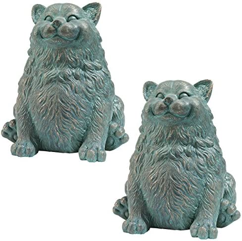 Design Toscano EU91090 Sitting Phat Cat Statue