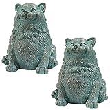 Cheap Design Toscano Phat Cat Statue, Multicolored