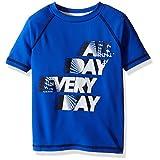 Crazy 8 Big Boys' Short Sleeve Active T-Shirt, Blue, X-Large