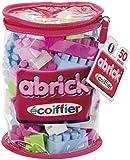 Ecoiffier - 485 - Jeu De Construction - Sac Tube Abrick - Rose - 50 Pièces