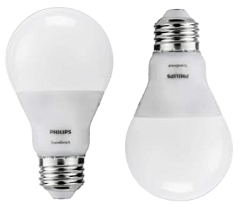 Philips 60W Equivalent, Soft White/Daylight/Warm Glow, SceneSwitch A19 LED  Light