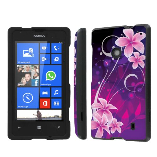 NakedShield Nokia Lumia 635 (Purple Orchid) Total Hard Armor Protection LifeStyle Phone Case