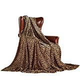"""MERRYLIFE Throw Blanket Decorative Fleece Throw 