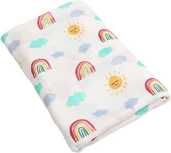 JYCRA - Manta de muselina, transpirable, algodón orgánico, toalla ...