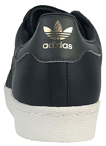 Night Baskets adidas Noir Superstar 80s Homme Core Cargo Yq8HOwx